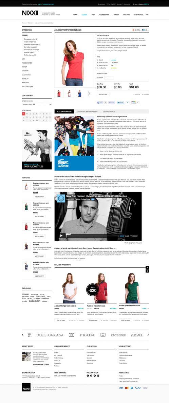 Fashion OpenCart Theme - BossThemes Nixx - Product Details