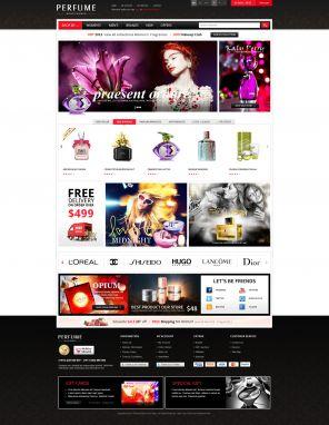 Fragrance & Perfume Responsive OpenCart Theme