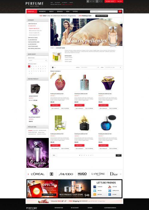 Bossthemes Perfume - Category
