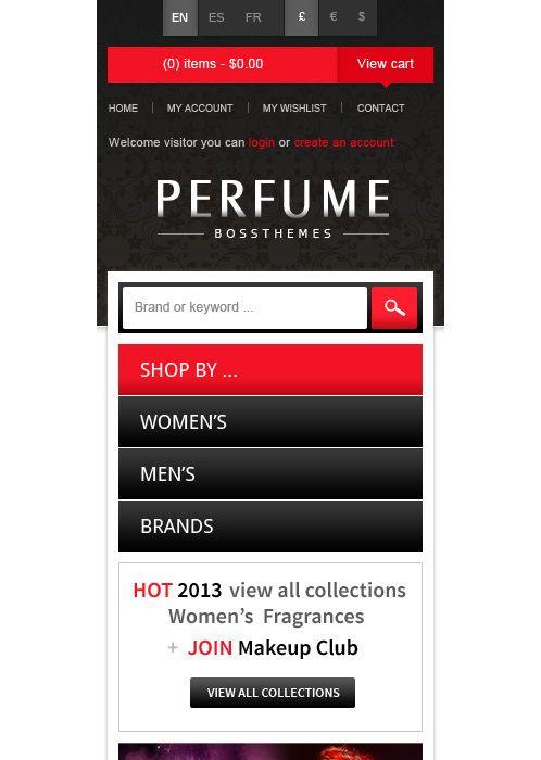 Bossthemes Perfume - Mobile