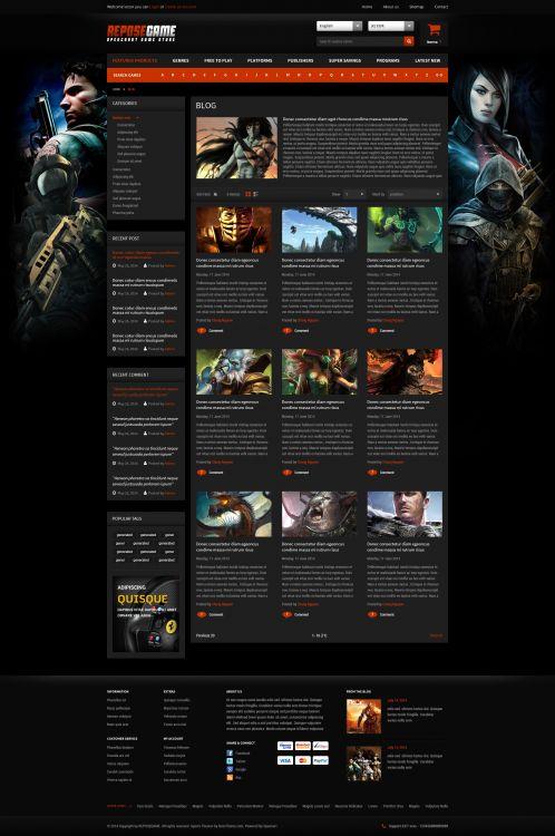 Bossthemes ReposeGame - Blog