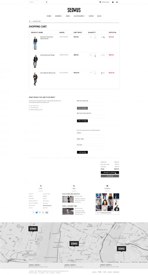 Bossthemes Serwus - Shopping Cart