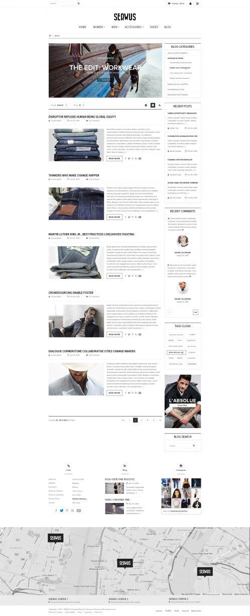 Bossthemes Serwus 2 - Blog