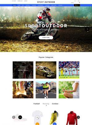 Responisve Opencart Sporting Goods Shop- SportDoor