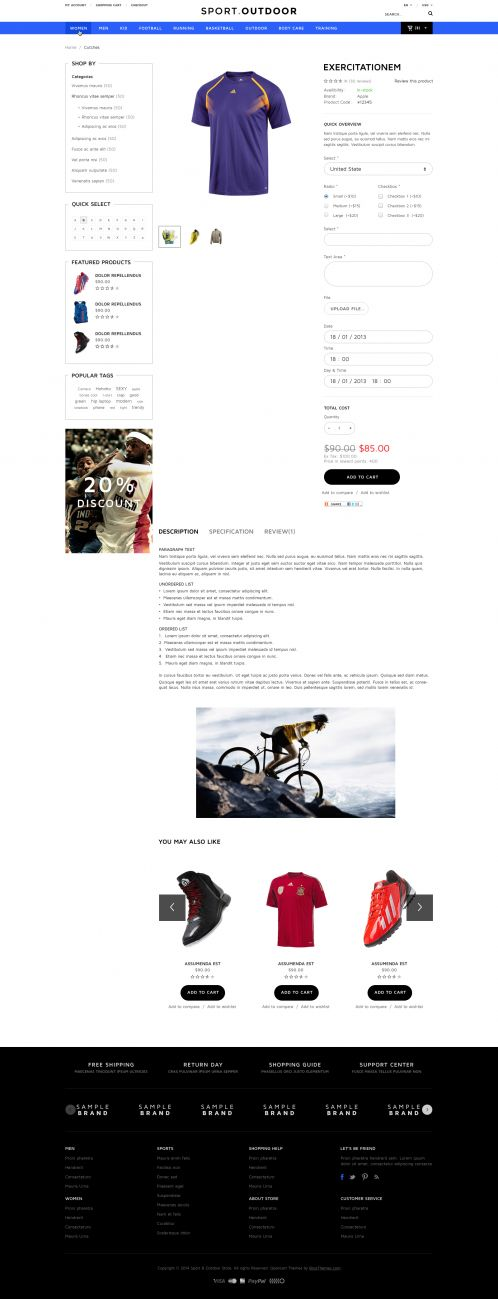 Bossthemes SportDoor - Product