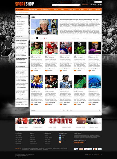 Bossthemes SportStore - Blog