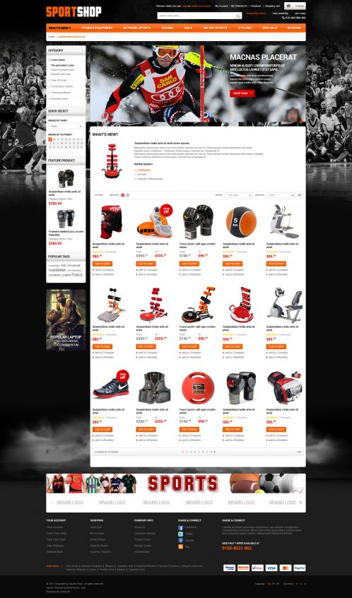 Bossthemes SportStore - Category Grid