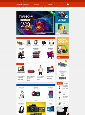 Super Express Responsive OpenCart Theme
