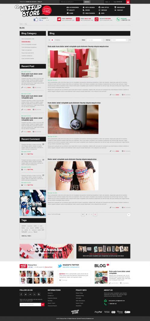 Bossthemes Wazzup - Blog
