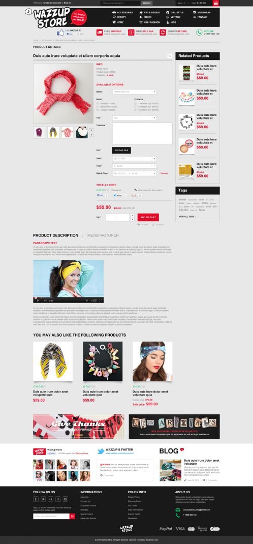 Bossthemes Wazzup - Product