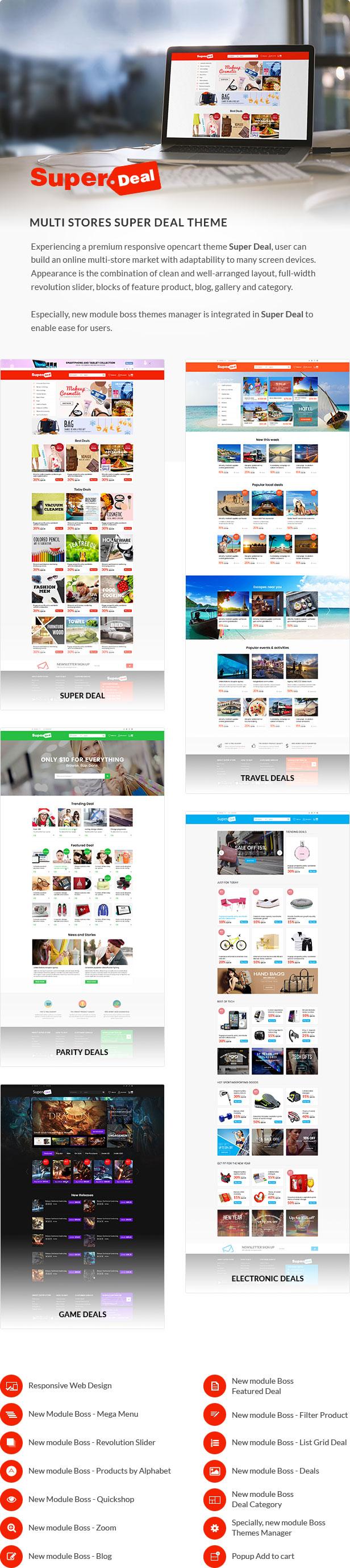 Super Deal - Premium Responsive Opencart Theme